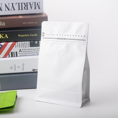 咖啡豆包装袋带易撕拉链和单项排气阀
