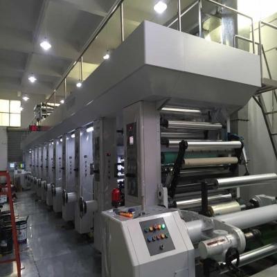 9色高速凹版电脑印刷机